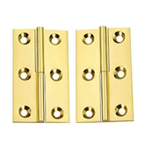 Lift Off Brass Furniture Hinges, Left - paxton hardware ltd