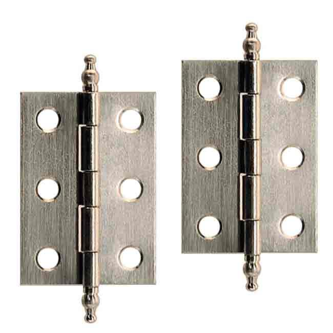 Nickel Cabinet Hinges - paxton hardware ltd