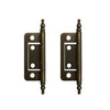 No Mortise Hinges, 2 inch - paxton hardware ltd