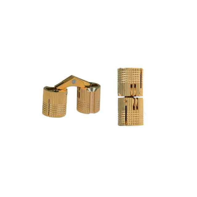 Brass Cylinder Hinges, 10mm - paxton hardware ltd