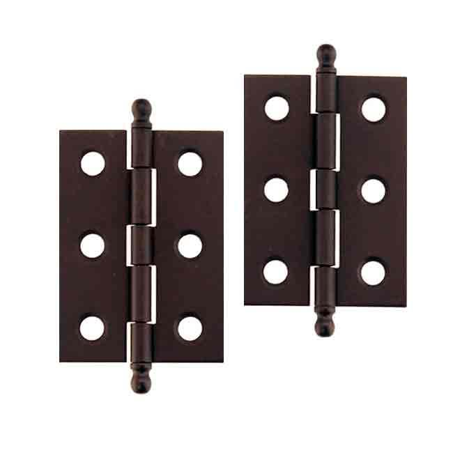 Antique Furniture Hinges, Oil Rubbed Bronze - paxton hardware ltd