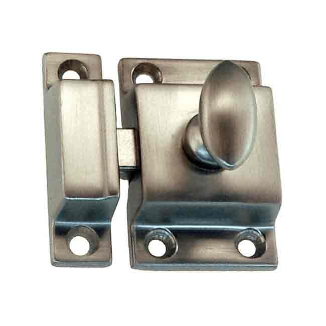 Nickel Cabinet Catches, smooth action, for cabinet and furniture doors