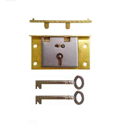 Brass Box Locks, with 5/8 inch to pin - paxton hardware ltd