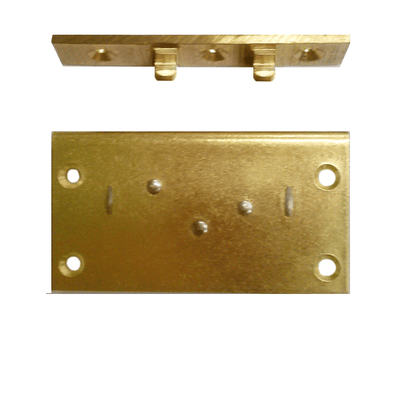 Brass Box Lock, with 3/4 inch to pin - paxton hardware ltd