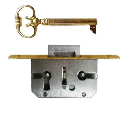 Full Mortise Lock, 1/2 inch