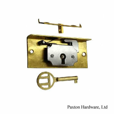 "Jewelry Box Lock, 7/16"" Backset"