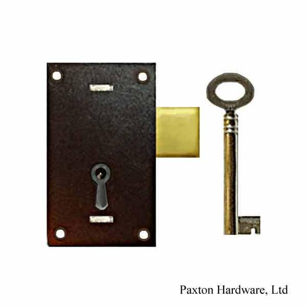Japanned Door Locks, 13/16 to-pin - paxton hardware ltd