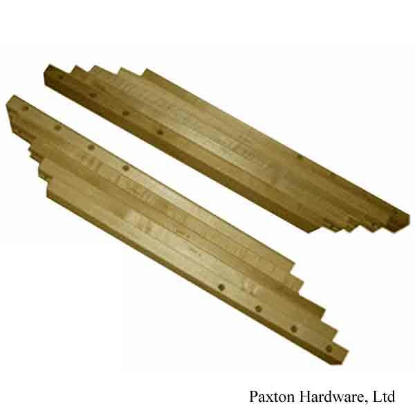 Wood Table Slides, 62 inch Leaf Opening - paxton hardware ltd