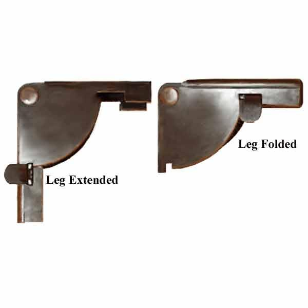 Folding Table Leg Brackets - paxton hardware ltd