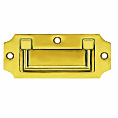 English Campaign Handles, width 4-3/8 inch - paxton hardware ltd