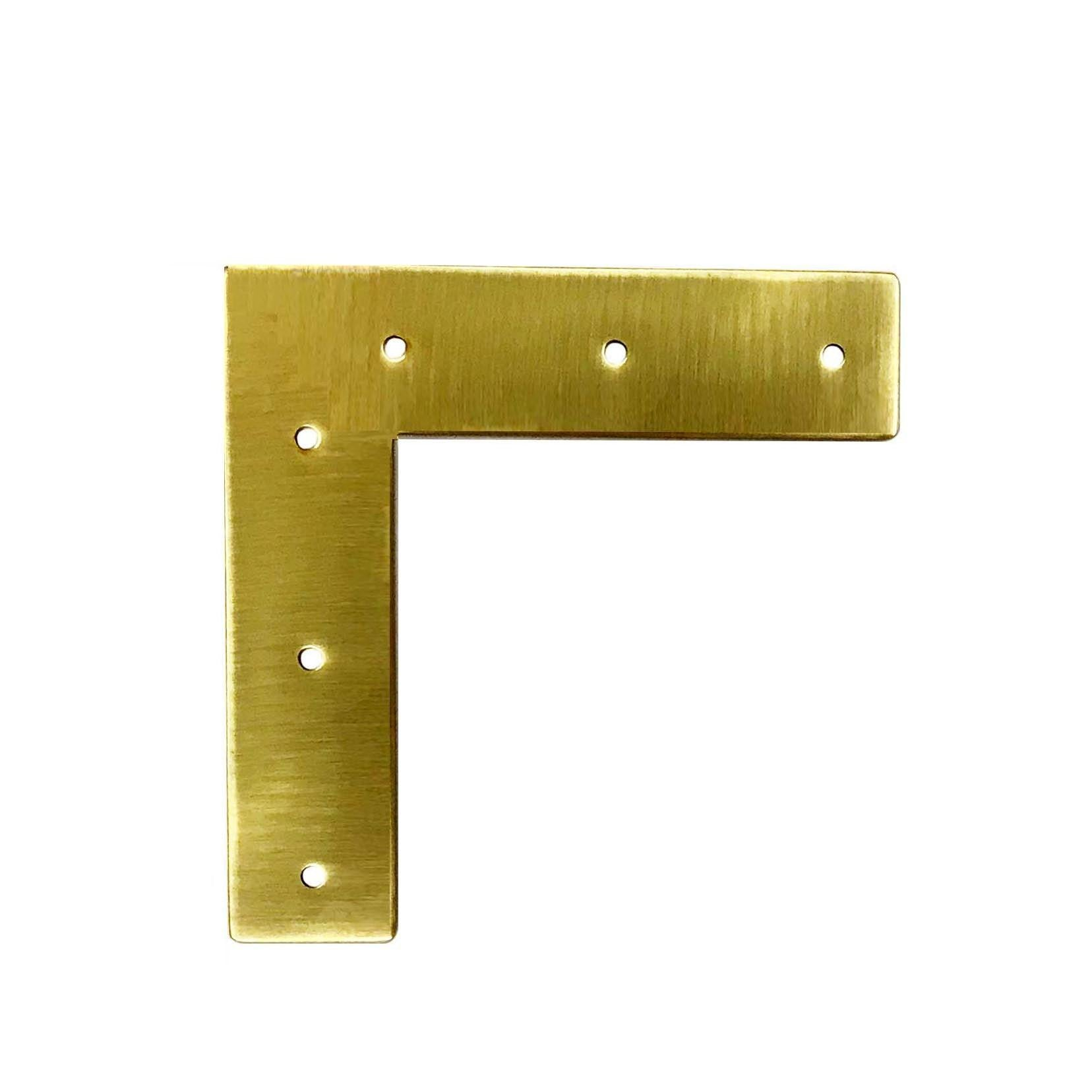 Brass Furniture Trim  L - paxton hardware ltd