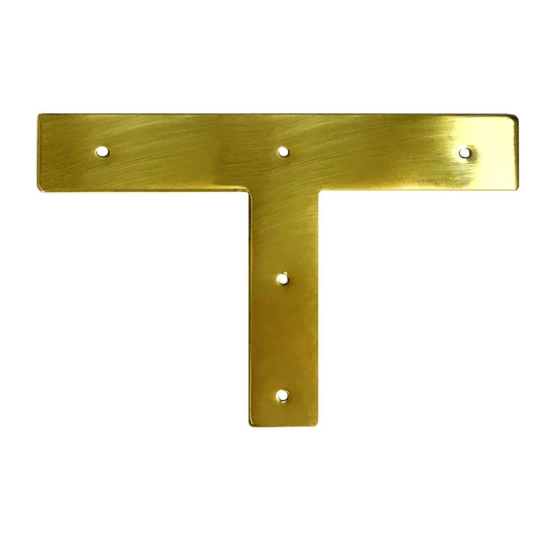 Brass Campaign Trim  T - paxton hardware ltd