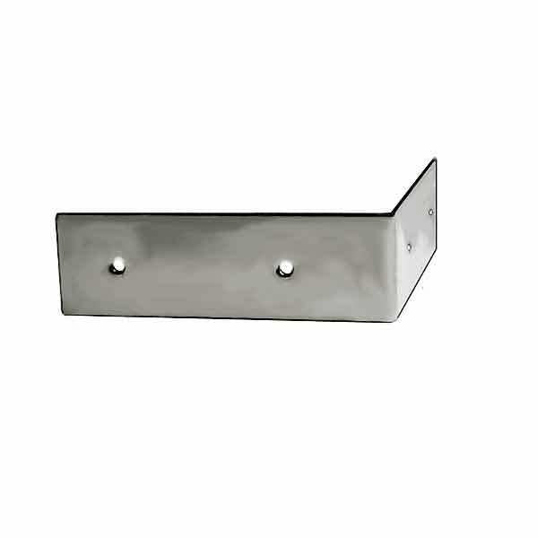 Nickel Corner Trim with a sleek polished finish