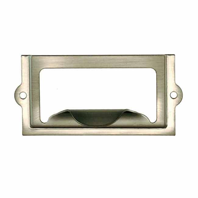 Economical Vintage Label Holders, nickel - paxton hardware ltd