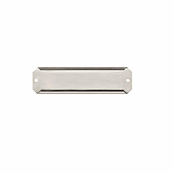 Narrow Aluminum Card Holders, 1/2 inch - paxton hardware ltd