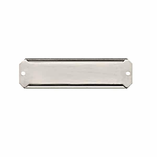 Narrow Aluminum Card Holders, 3/4 inch - paxton hardware ltd