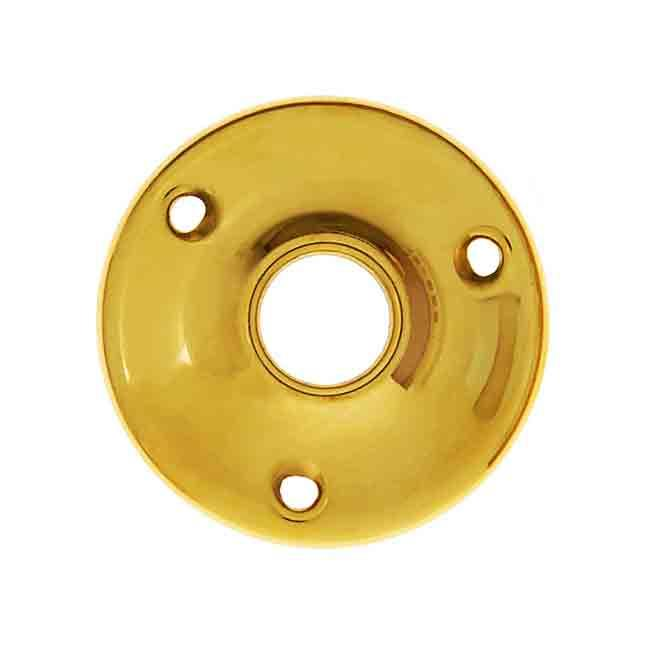 Round Brass Door Plates for full size doors