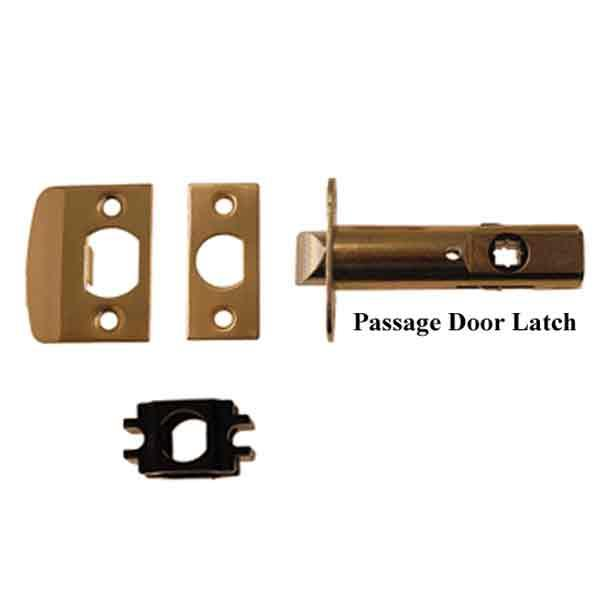 Interior Passage Latch Set - paxton hardware ltd
