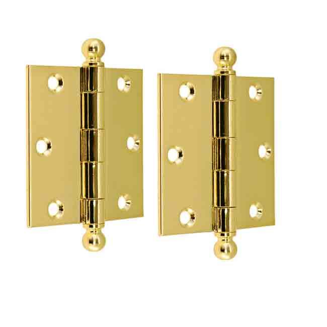 Substantial Removable Pin Door Hinges, 3 inch height