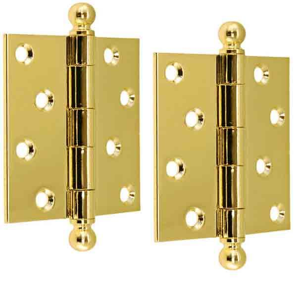 "Long Wearing Removable Pin Door Hinges, 4"" height"