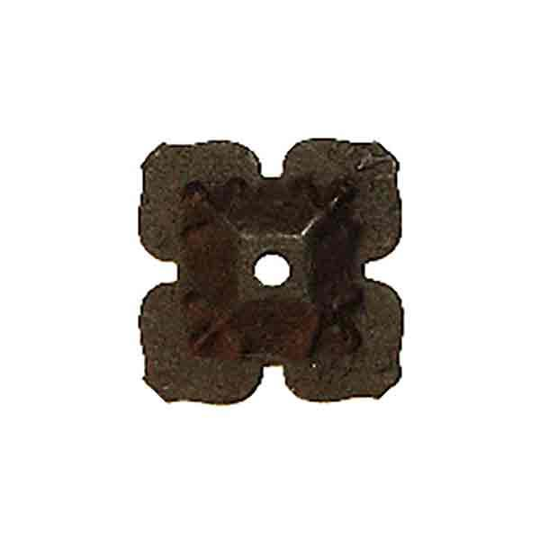 Black Iron Cloverleaf Ornament - paxton hardware ltd