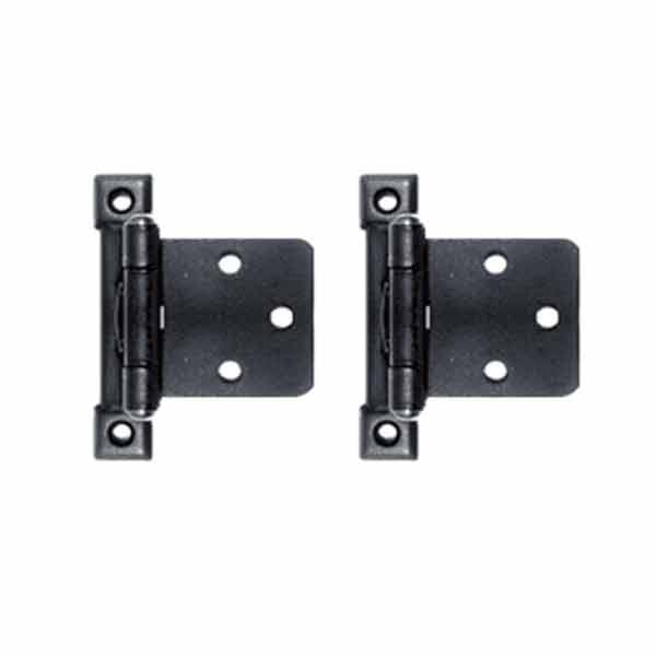 Black Overlay Cabinet Hinges - paxton hardware ltd