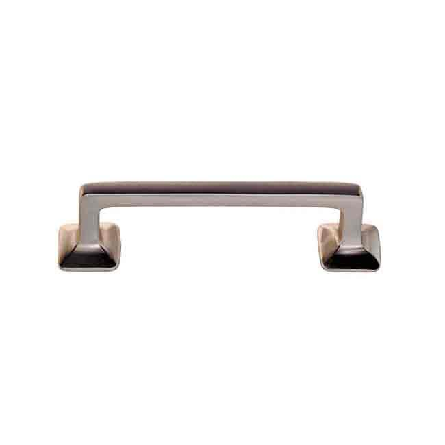 Fixed Cabinet Handles, Nickel 3 inch - paxton hardware ltd