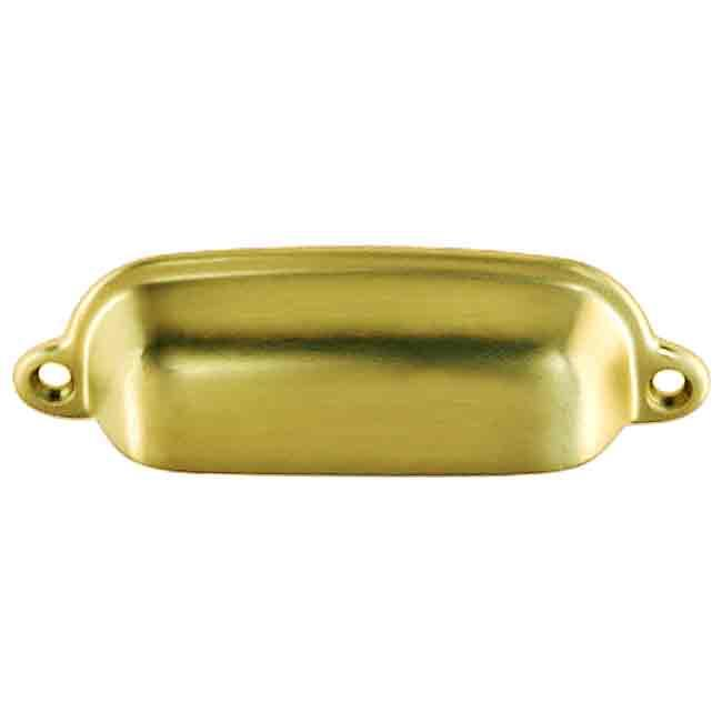 Vintage Brass Cup Pull