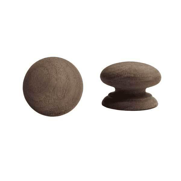 Walnut Knobs, 1-3/4 inch