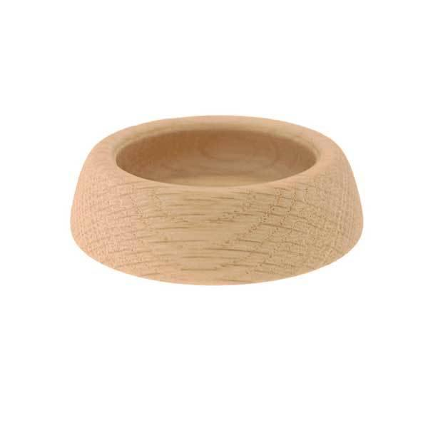 Wood Cups for Casters - paxton hardware ltd