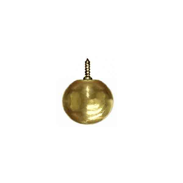 Screw-on Brass Ball, 3/4 inch - paxton hardware ltd