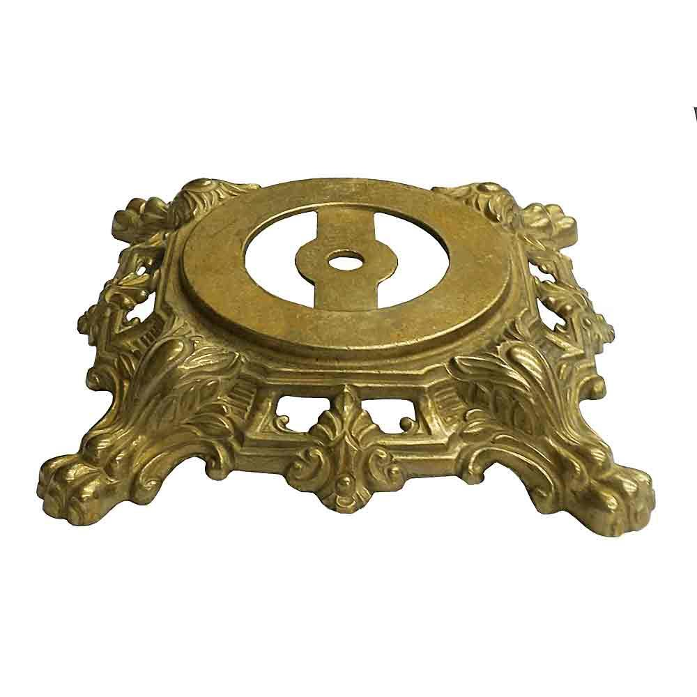Substantial Ornate, Cast Brass Lamp Base