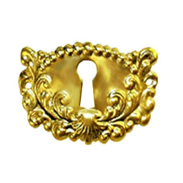 Furniture Keyhole Escutcheon, Victorian - paxton hardware ltd