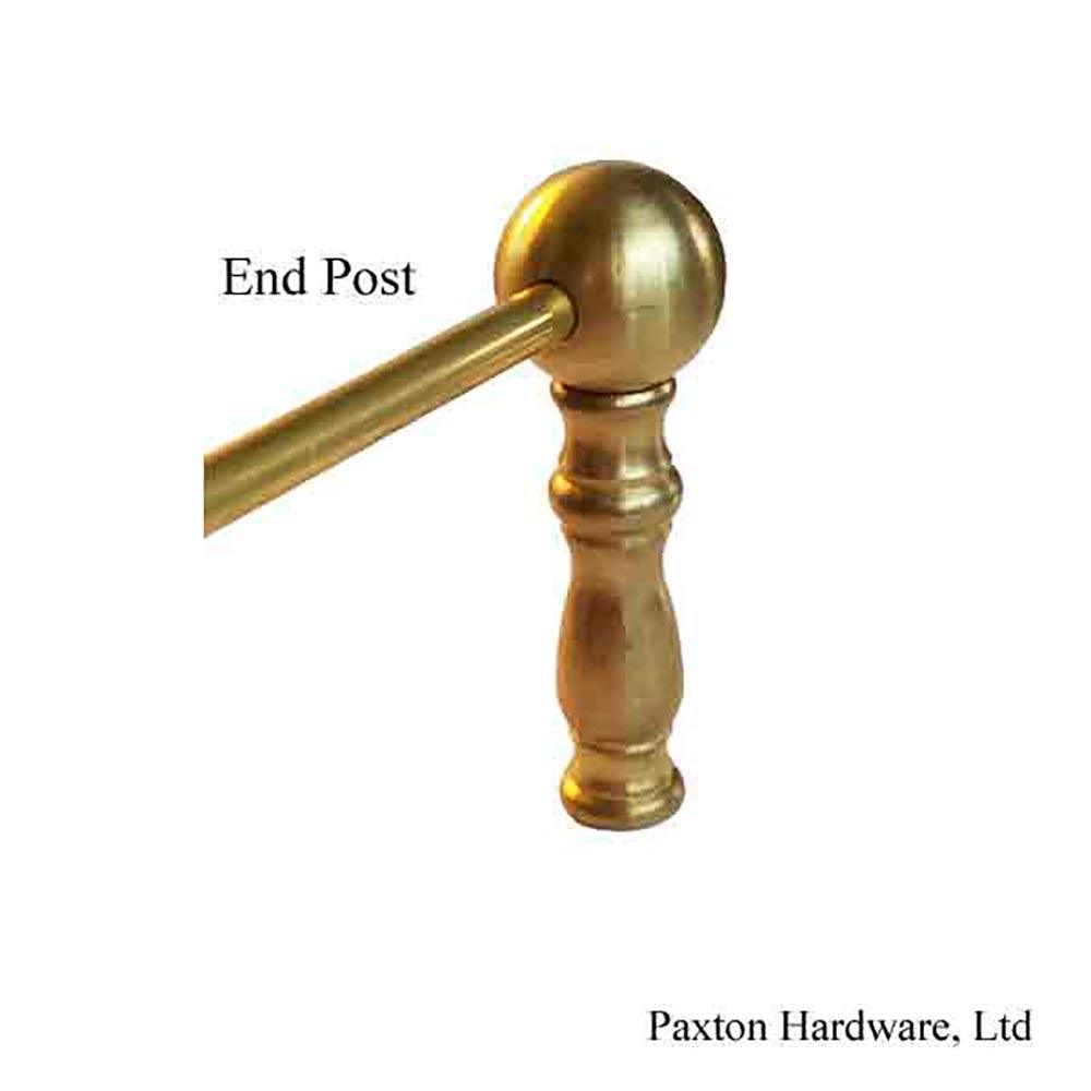 Shelf Rail End Post