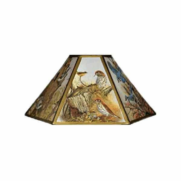 Bird Chimney Lampshades, 12 inch - paxton hardware ltd