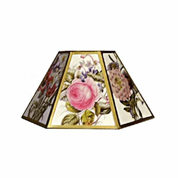Floral Chimney Lampshades,12 inch - paxton hardware ltd