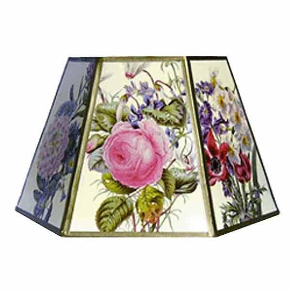 Floral Clip-on Lampshades