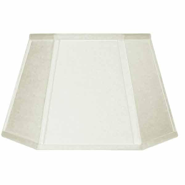 Large White Linen Floor LampShades - paxton hardware ltd