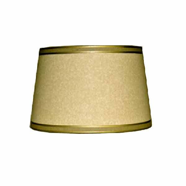 Small Oval Parchment Drum Lampshades,12 inch