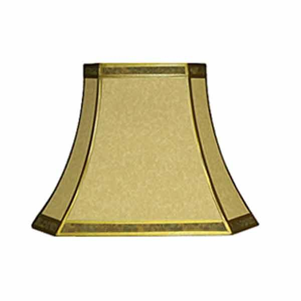 Rectangular Bell Lampshades, 14 inch