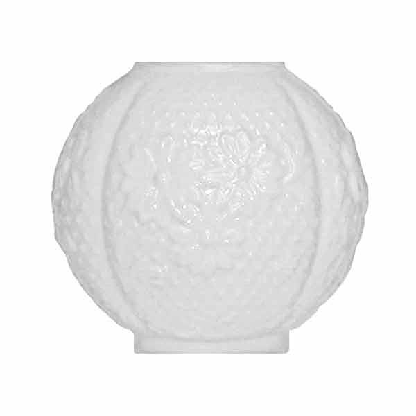 White Dogwood Ball Shades - paxton hardware ltd