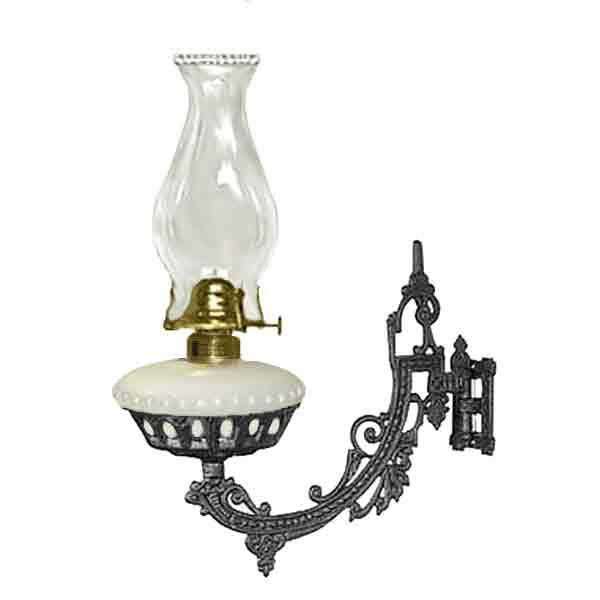 Vintage Style Wall Lamp, oil burning