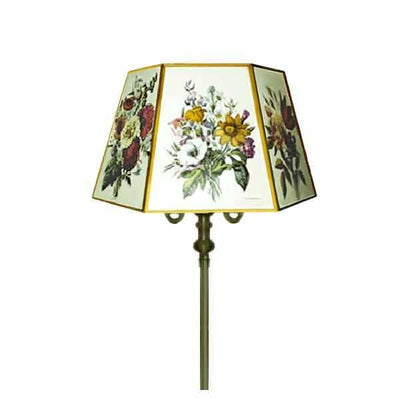 Floral Lamp Shade tops reflector floor lamp