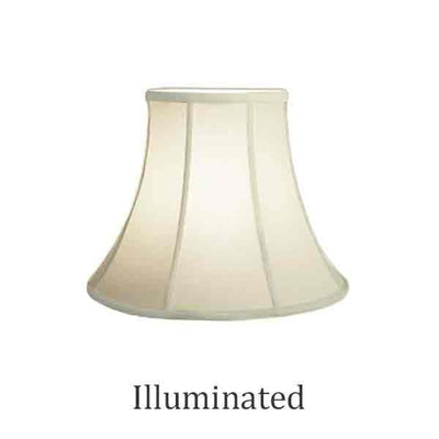 Eggshell Bell Lamp Shades, 12 inch base - paxton hardware ltd