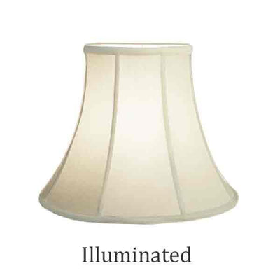 Eggshell Bell Lamp Shades, 14 inch - paxton hardware ltd