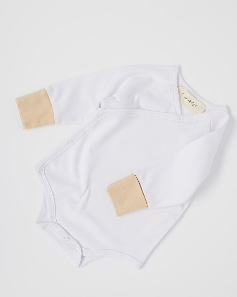 Palm Romper (White)