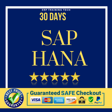 *SAP HANA 30 DAYS