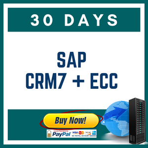 SAP CRM7 + ECC 30 DAYS