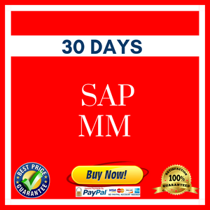 SAP MM 30 DAYS