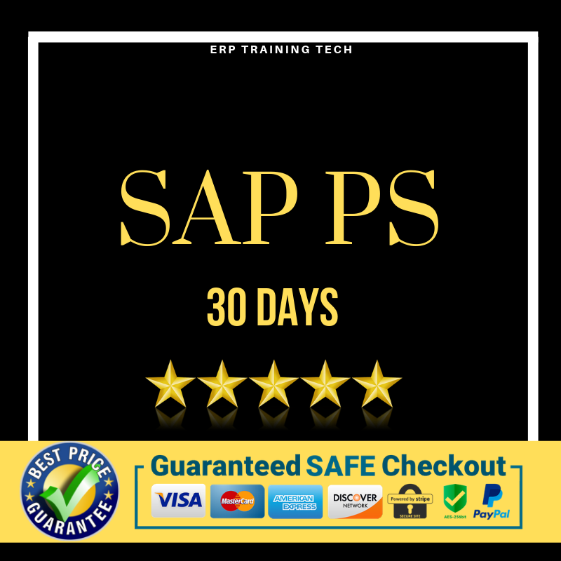 SAP PS 30 DAYS